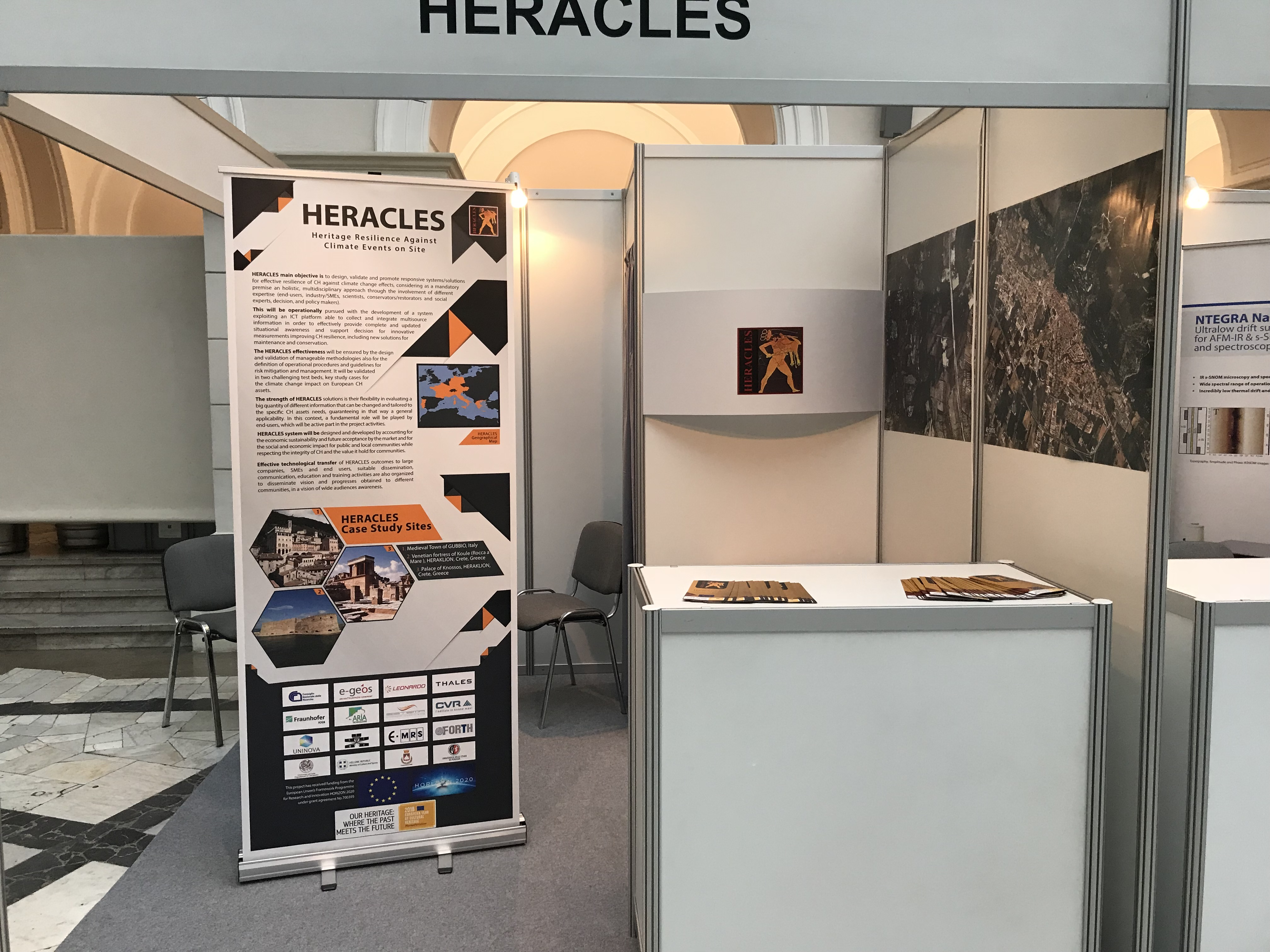 HERACLES held a stand in the EMRS 2018 Fall Meeting
