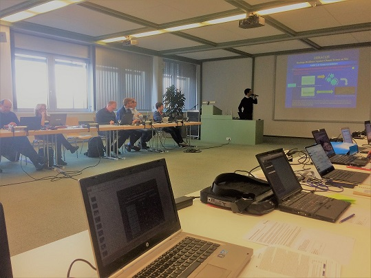 The Third Progress Meeting was held on 15-17th november in Karlsruhe, DE
