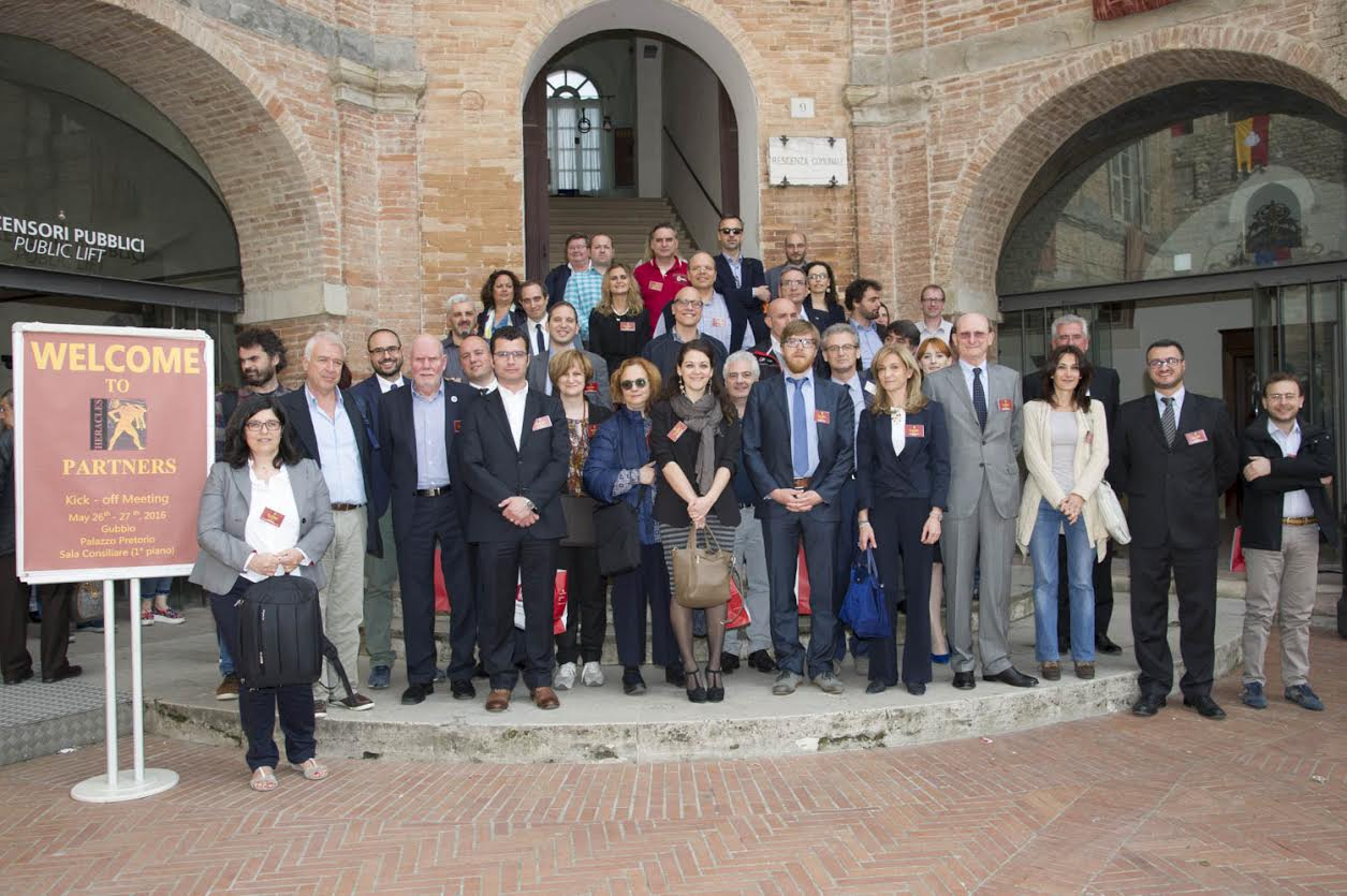 HERACLES Kick-Off Meeting - Gubbio, (IT) - May 2016