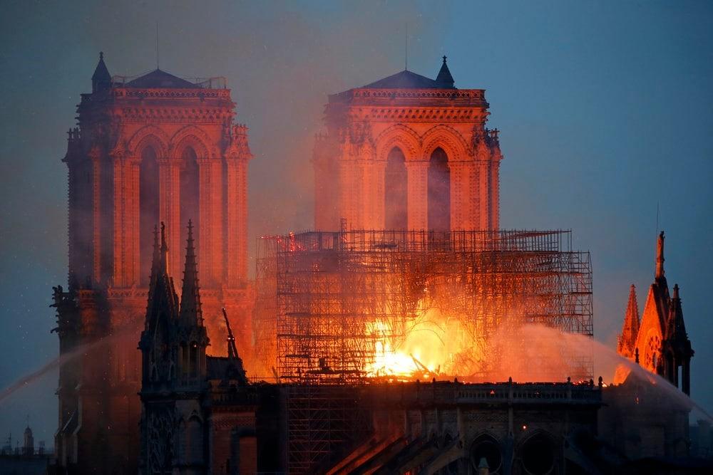 In solidarity with Notre-Dame de Paris