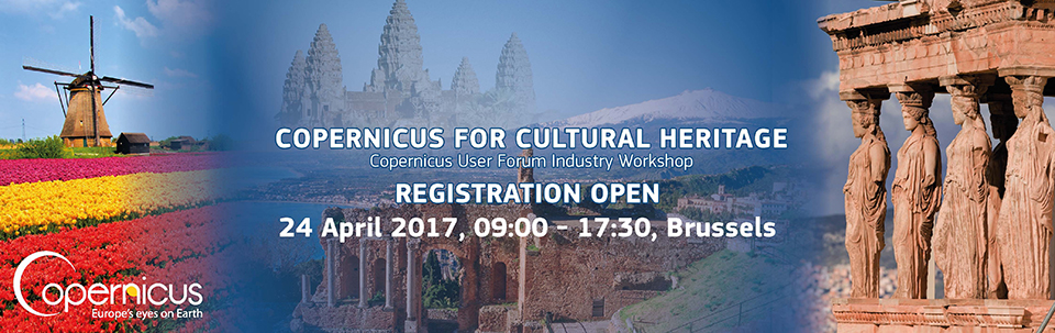 Copernicus for Cultural Heritage Workshop