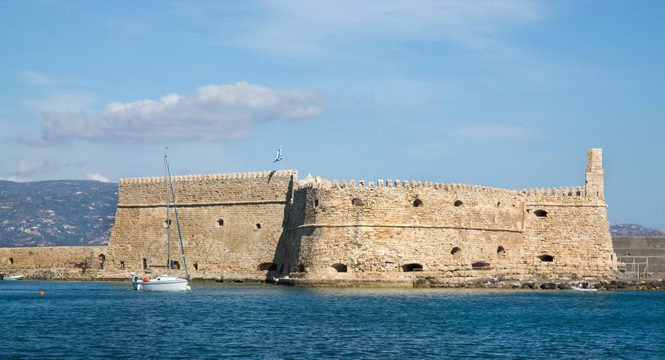 Koule Fortress Heraklion Greece