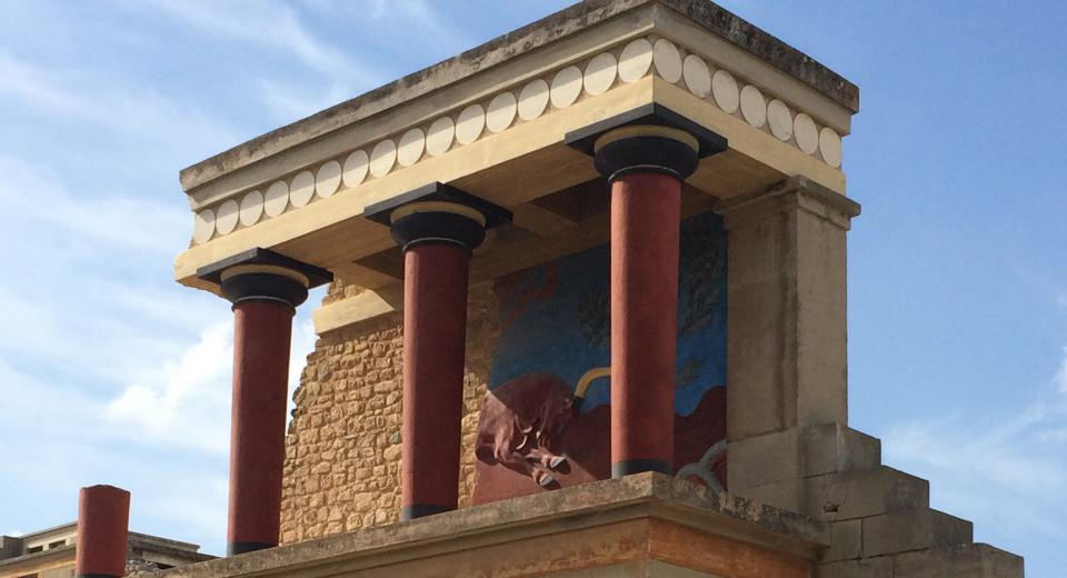 Knossos Heraklion Greece
