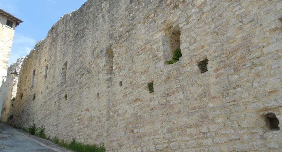 Gubbio Town Walls